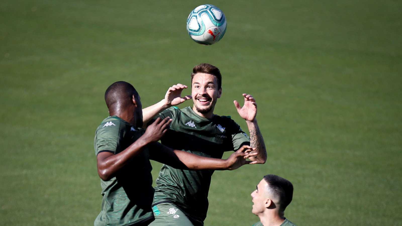 Imagen: Entrenamiento del Real Betis