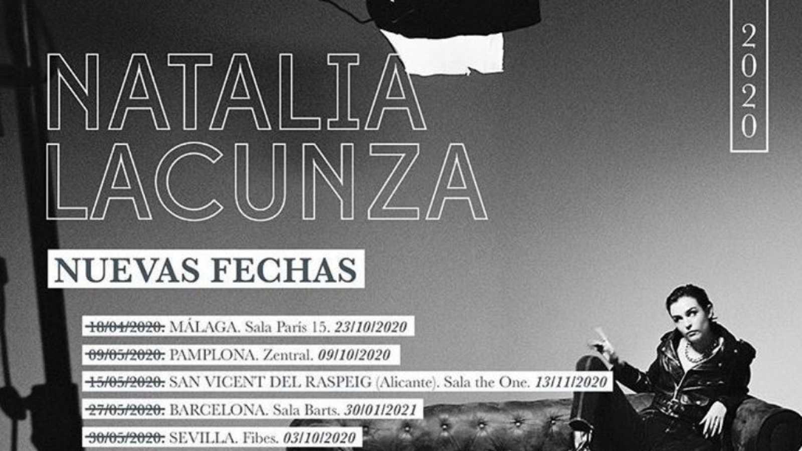 Natalia Lacunza anuncia nuevas fechas