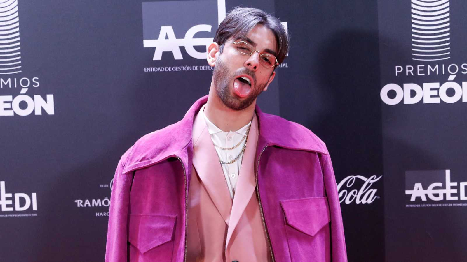 Don Patricio en la alfombra roja de los Premios Odeón