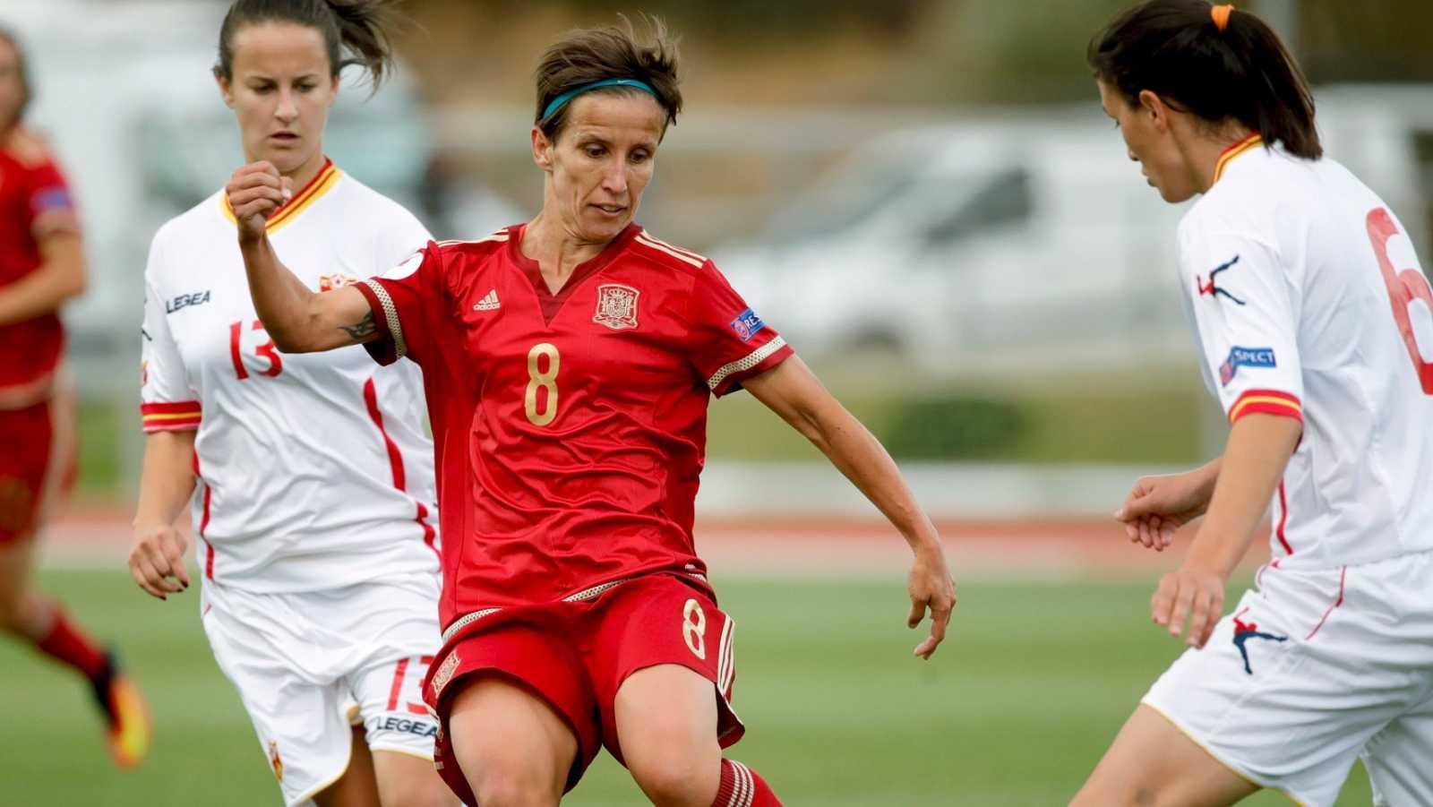 La jugadora de la selección española, Sonia Bermúdez