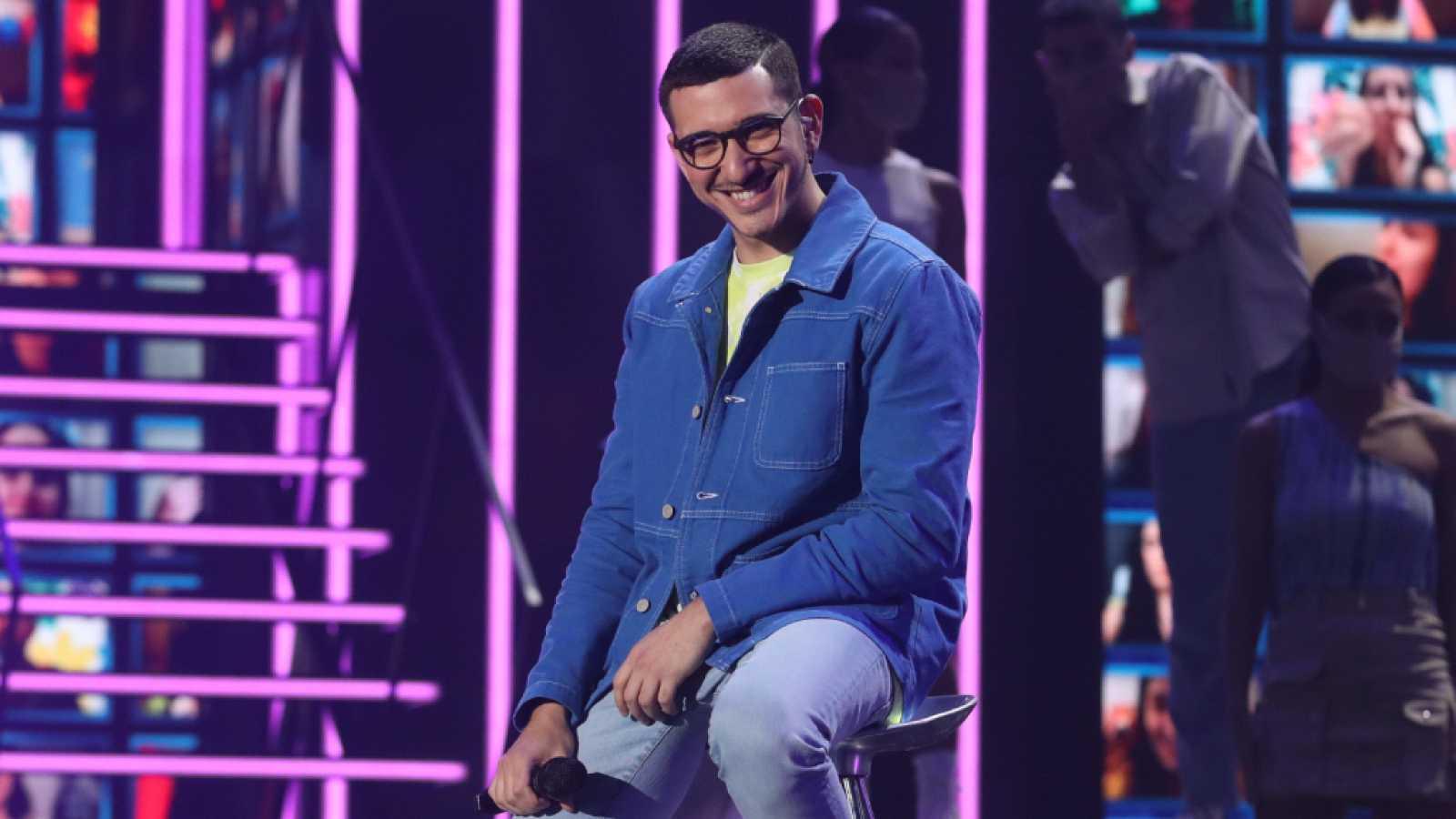 Bruno durante su actuación en 'OT 2020'