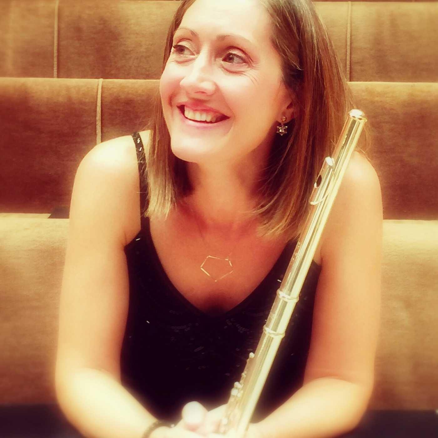 La solista de flauta de la Orquesta Sinfónica y Coro RTVE, Mónica Raga