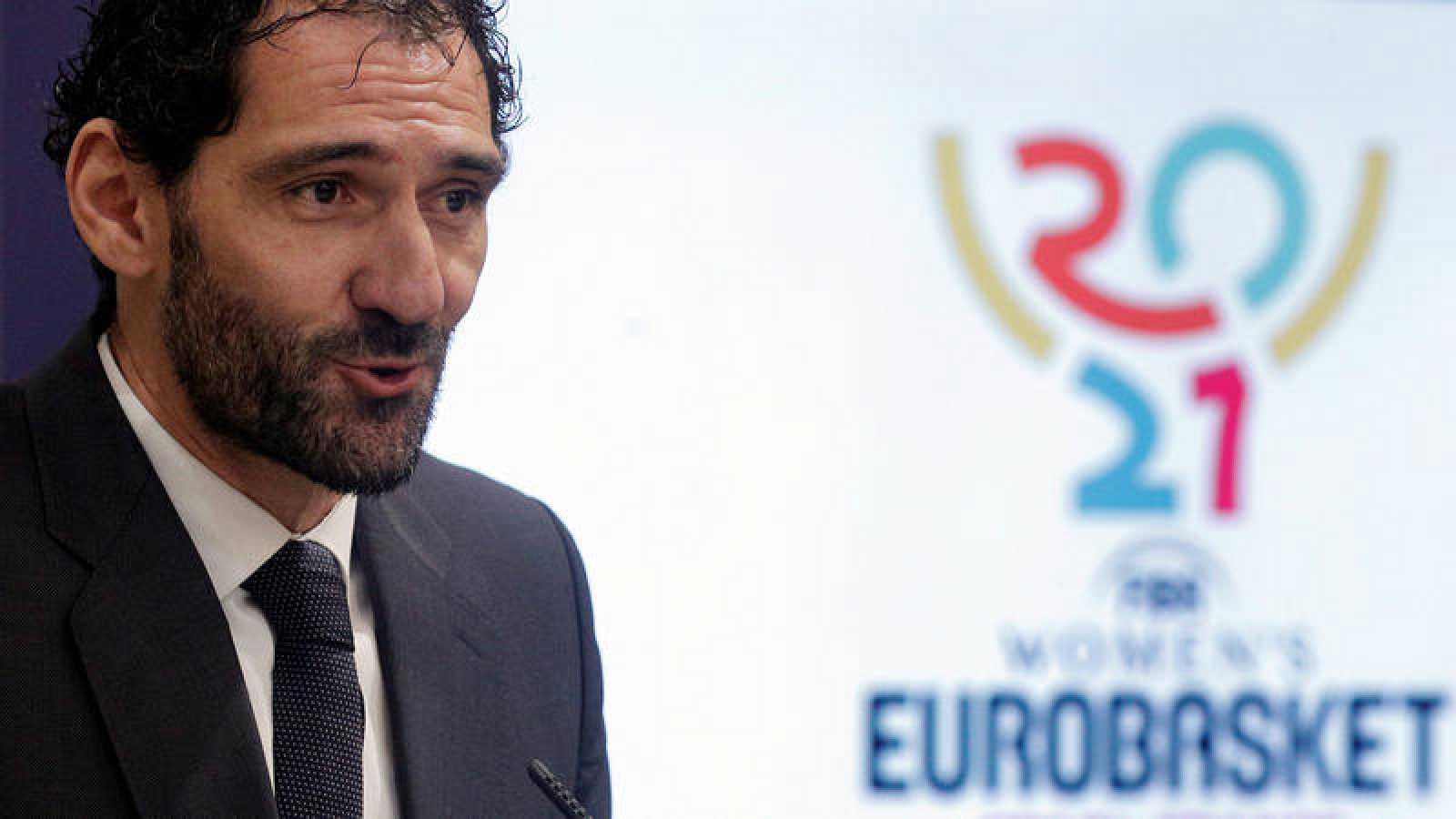 El presidente de la Federación Española de Baloncesto, Jorge Garbajosa.
