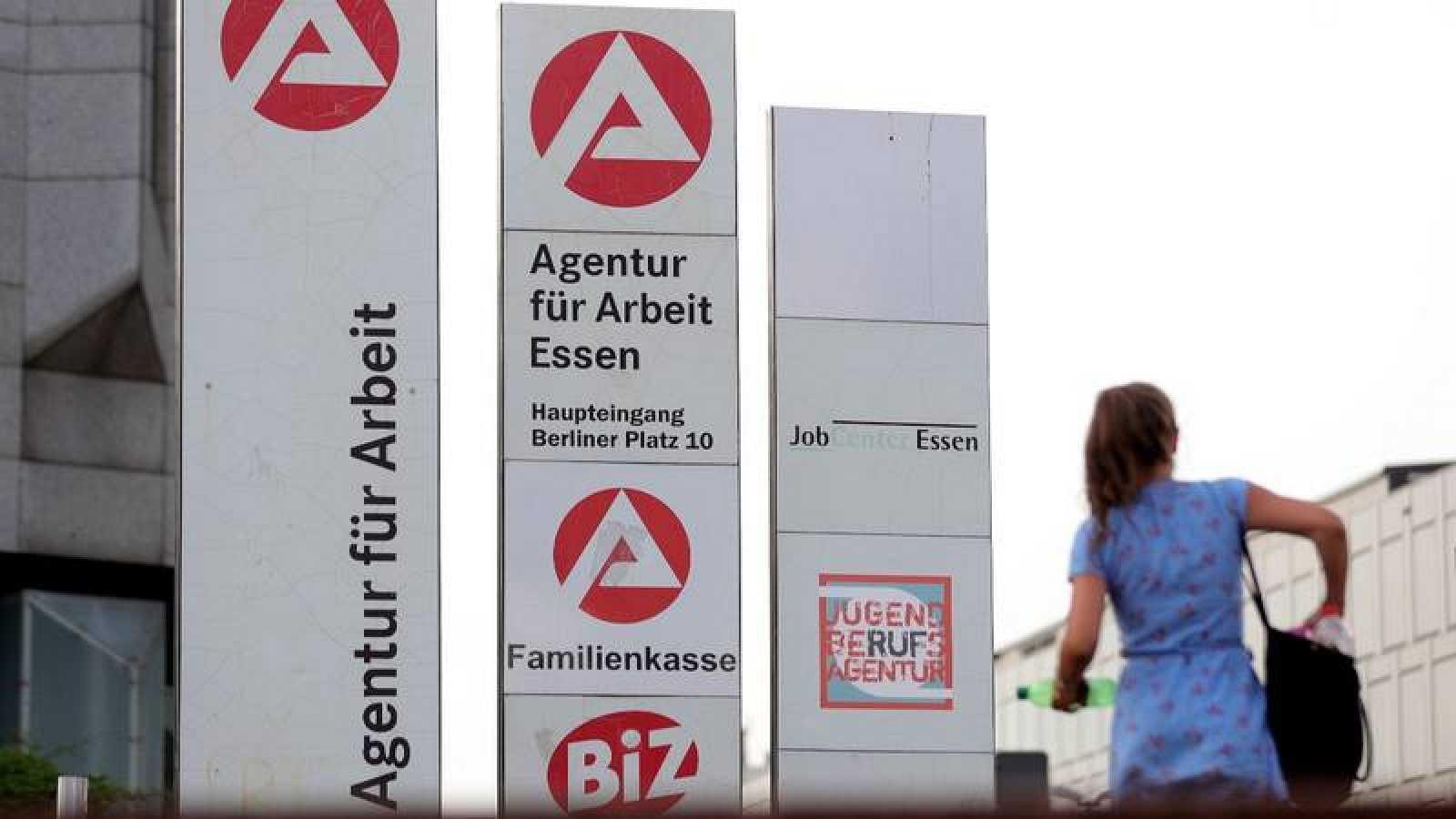Una oficina de empleo en Alemania