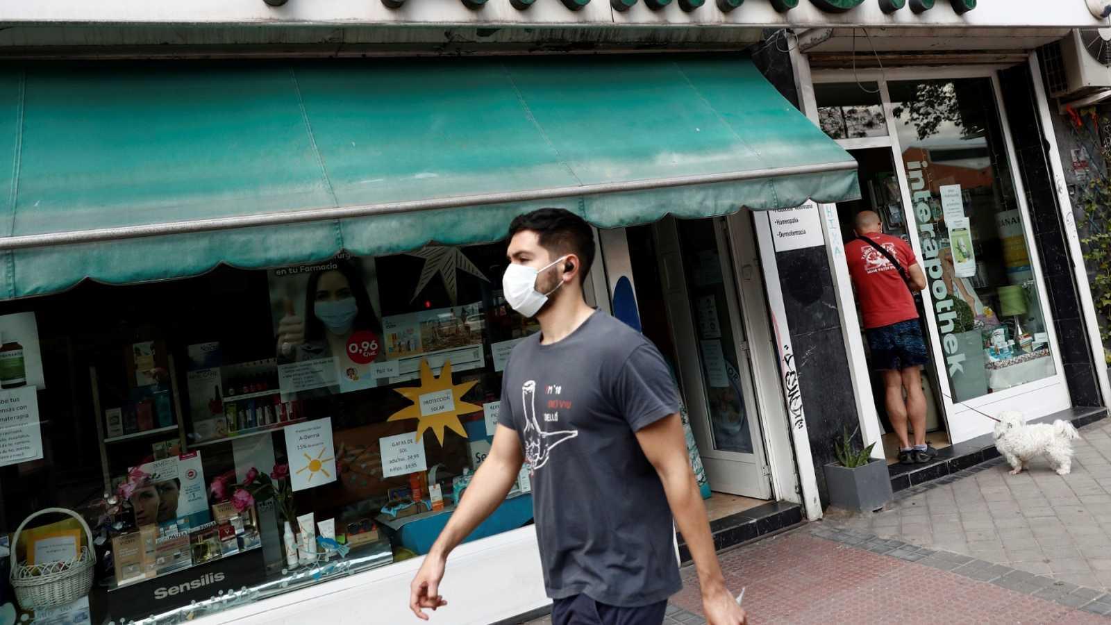 En la Comunidad de Madrid ha comenzado el segundo reparto de mascarillas en las farmacias