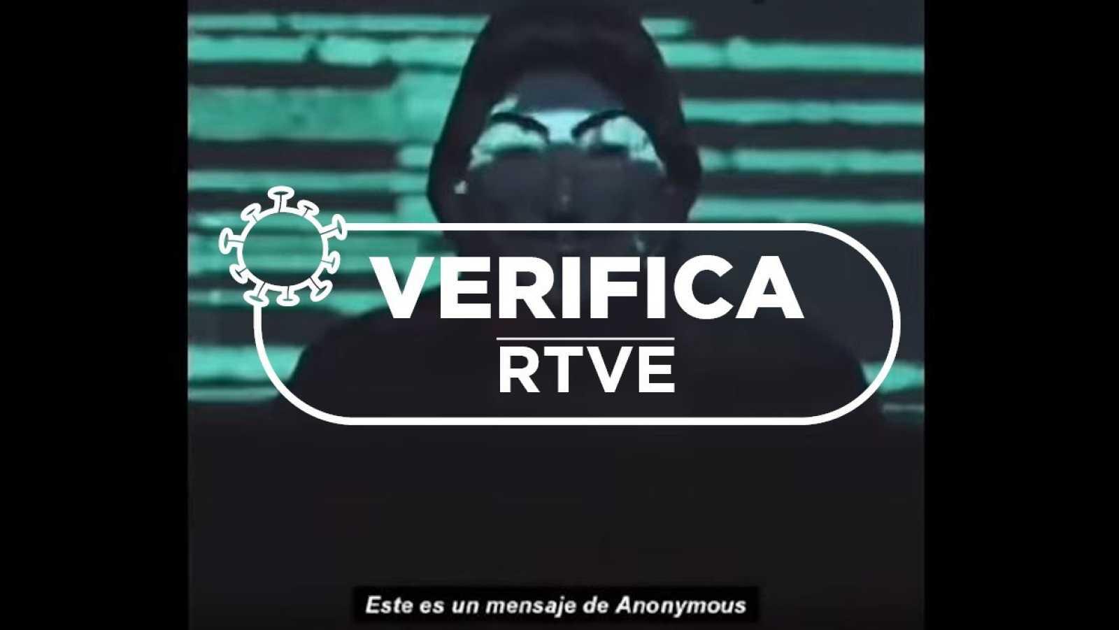 Detalle del nuevo vídeo de Anonymous hecho público el pasado 1 de junio.
