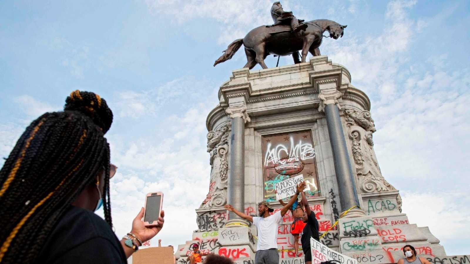 El estado de Virginia anuncia que retirará la estatua de un general confederado por ser un símbolo racista