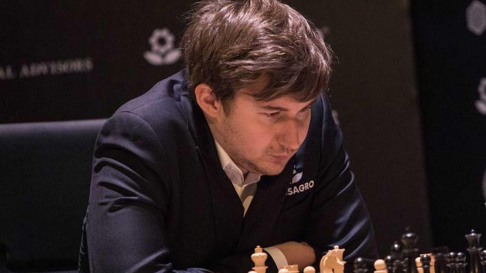 El maestro ruso de ajedrez Sergei Karjarin, en imagen ed archivo.