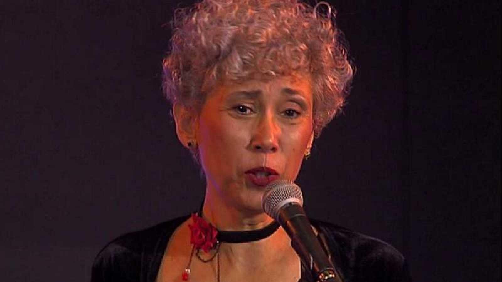 Claudia Yepes y la voz