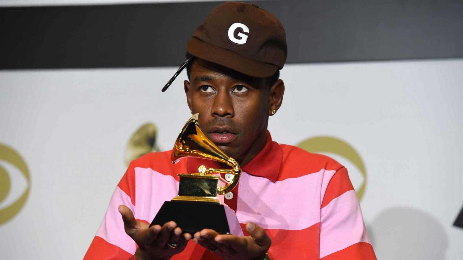 Tyler, The Creator recibe el premio al menor álbum rap por Igor el pasado mes de enero