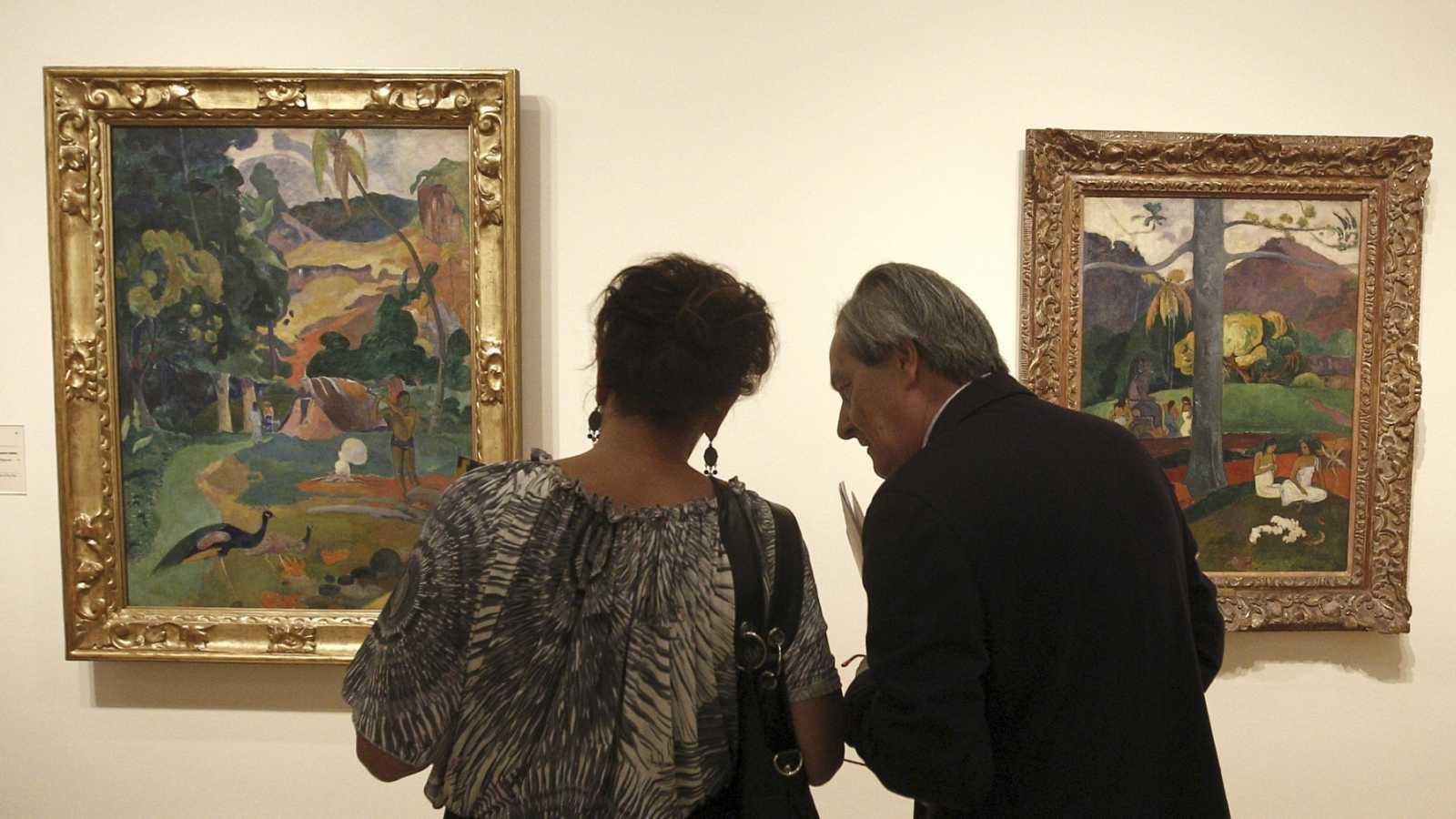 Cultura autorizó al Museo Thyssen la exportación de un Gauguin y otros tres cuadros, propiedad de Carmen Cervera