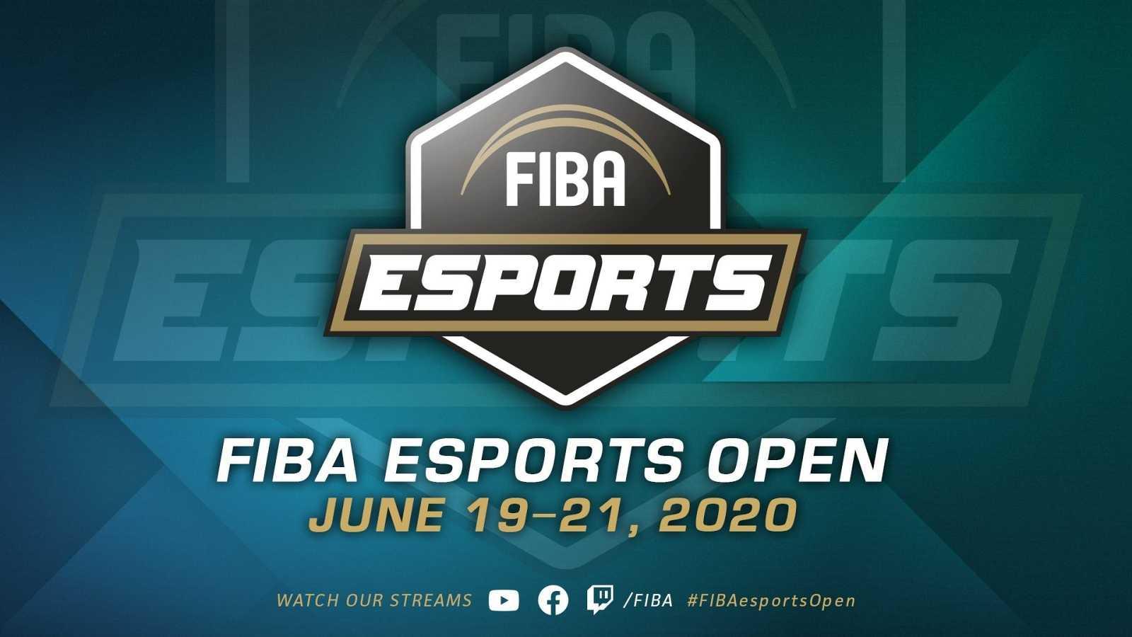 Imagen promocional del primer torneo internacional de eSports organizado por la FIBA