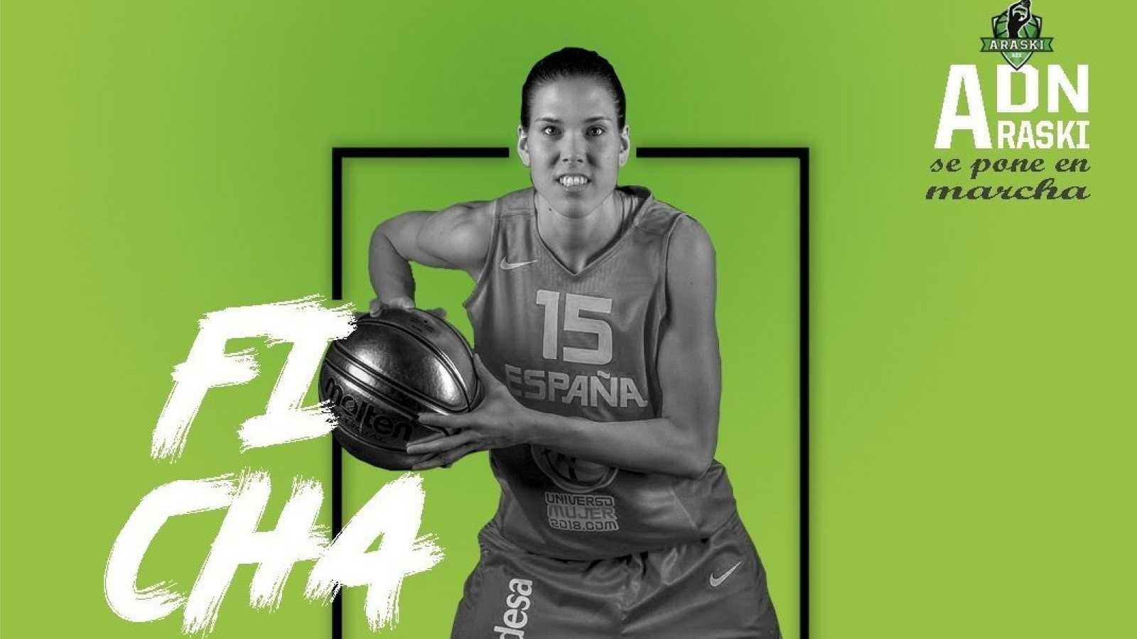 Imagen: Anna Cruz ficha por el Araski de la Liga femenina de baloncesto