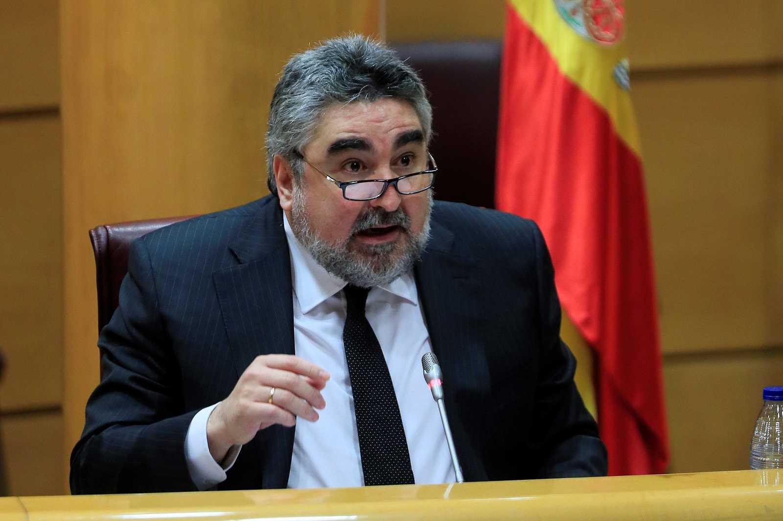Ministro de Cultura informa de las líneas generales de actuación de su departamento en el Senado
