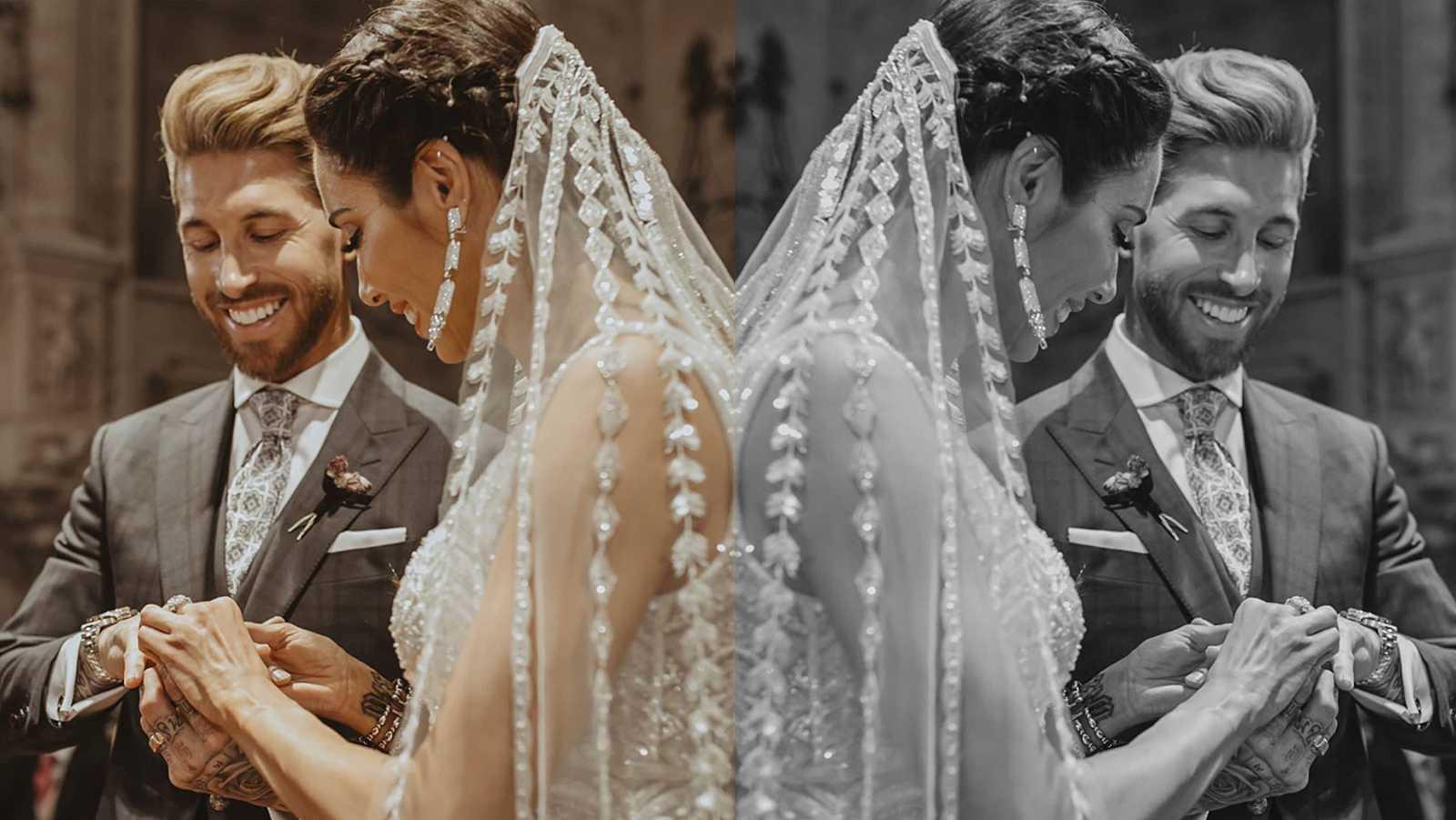 Pilar Rubio y Sergio Ramos se casaron el 15 de junio de 2019