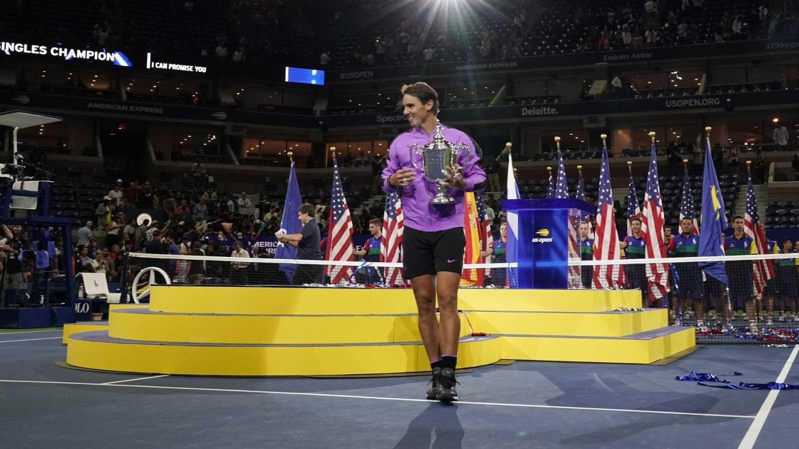 Rafa Nadal, campeón del US Open 2019