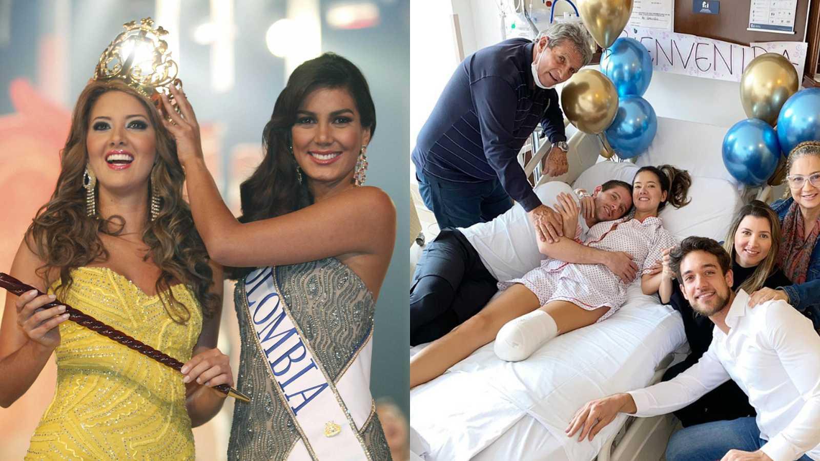 La ex Miss Colombia decidió someterse a la amputación para poder hacer vida normal con una prótesis