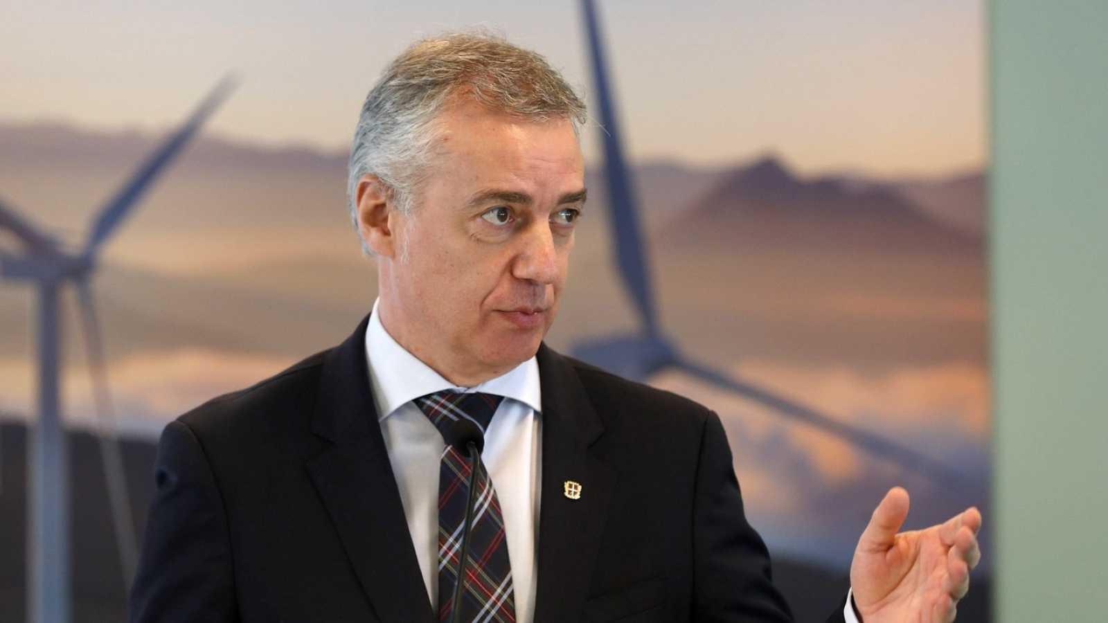 Euskadi y Cantabria confirman que adelantan la nueva normalidad al viernes. El lehendakari Íñigo Urkullu, en una imagen de archivo.