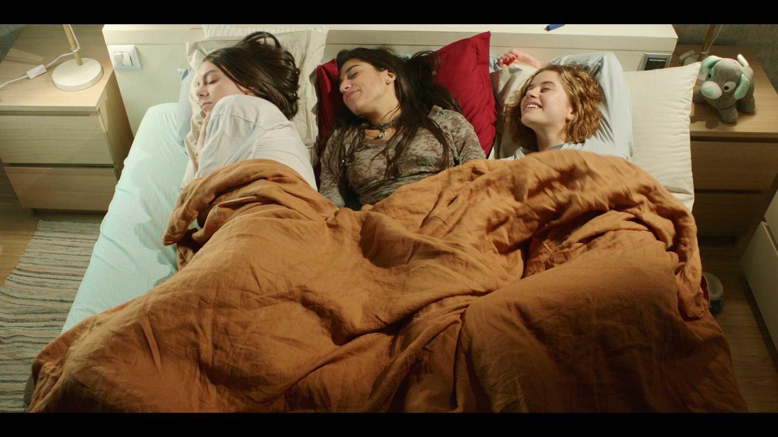 Imagen del rodaje de 'Chavalas'