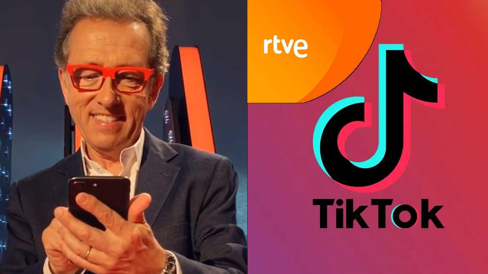 Jordi Hurtado nos da la bienvenida al TikTok de RTVE
