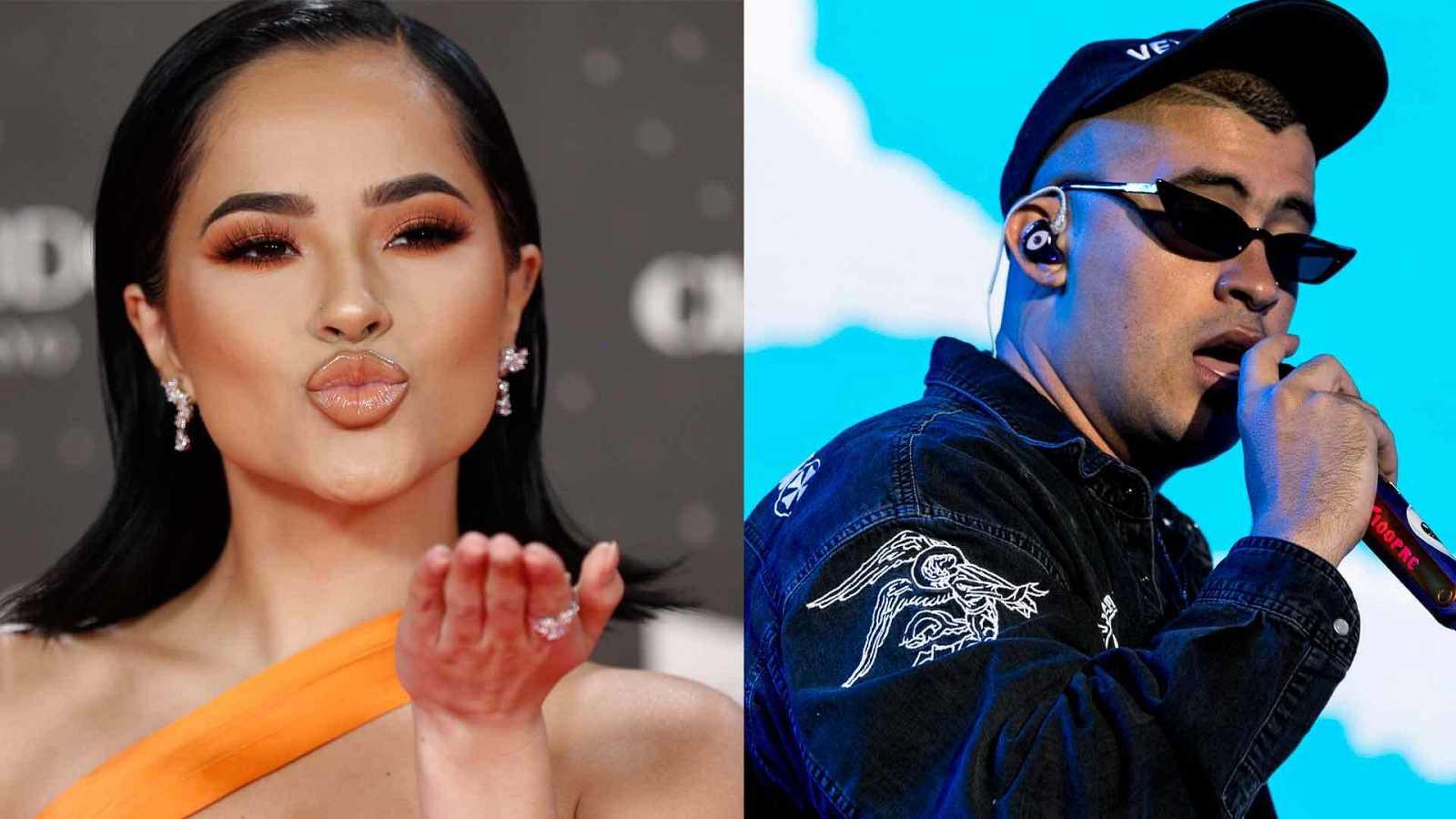 """Becky G y Bad Bunny, dos de los artistas de la playlist """"Perreo"""" de Pedro Sánchez."""