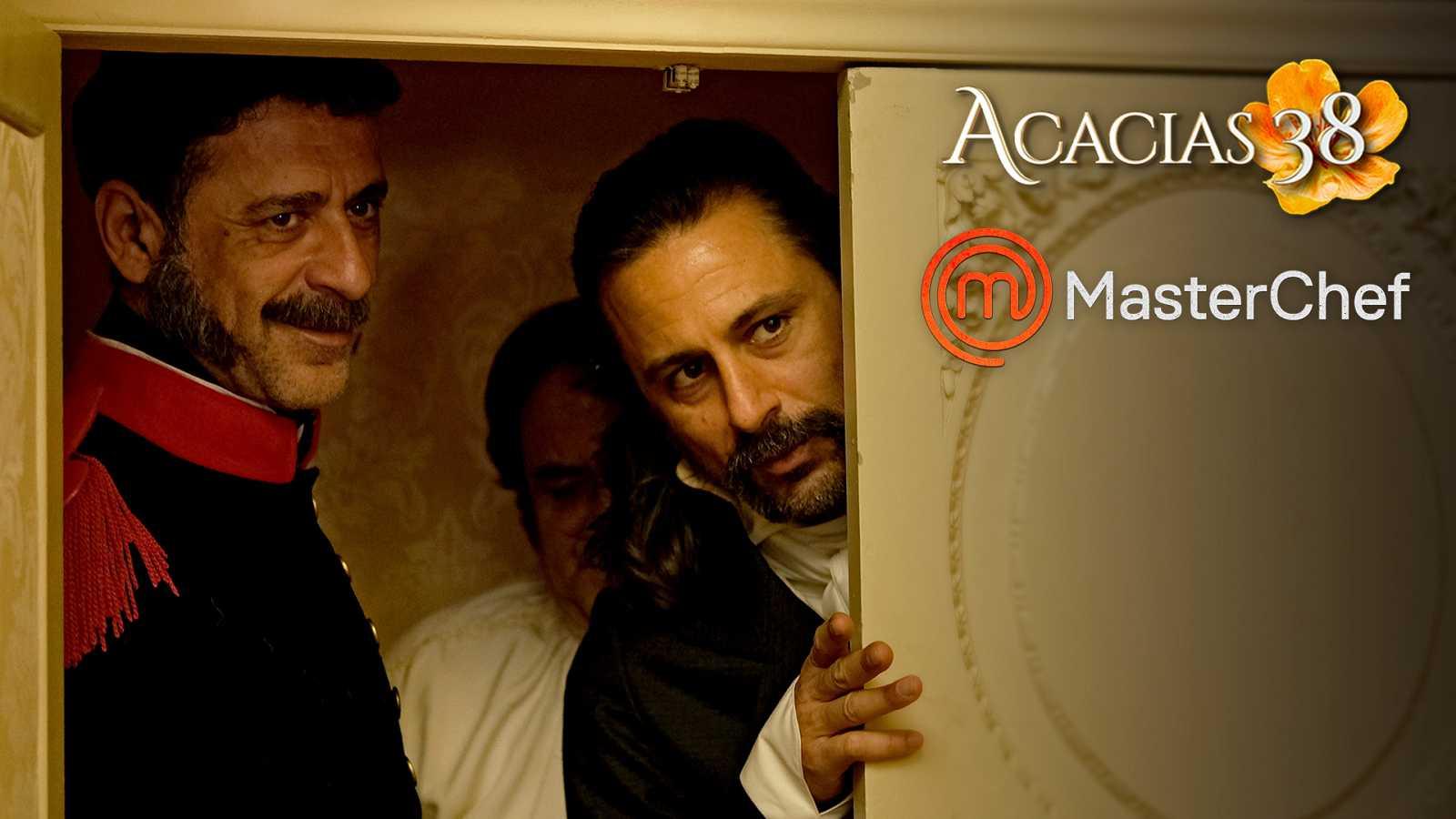 'Acacias 38' y 'MasterChef' se cuelan en 'El Ministerio del Tiempo'