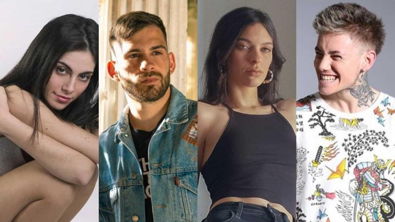 Anabel Lorente, Errecé, Cherry Massia y Hugo, los invitados de la semana