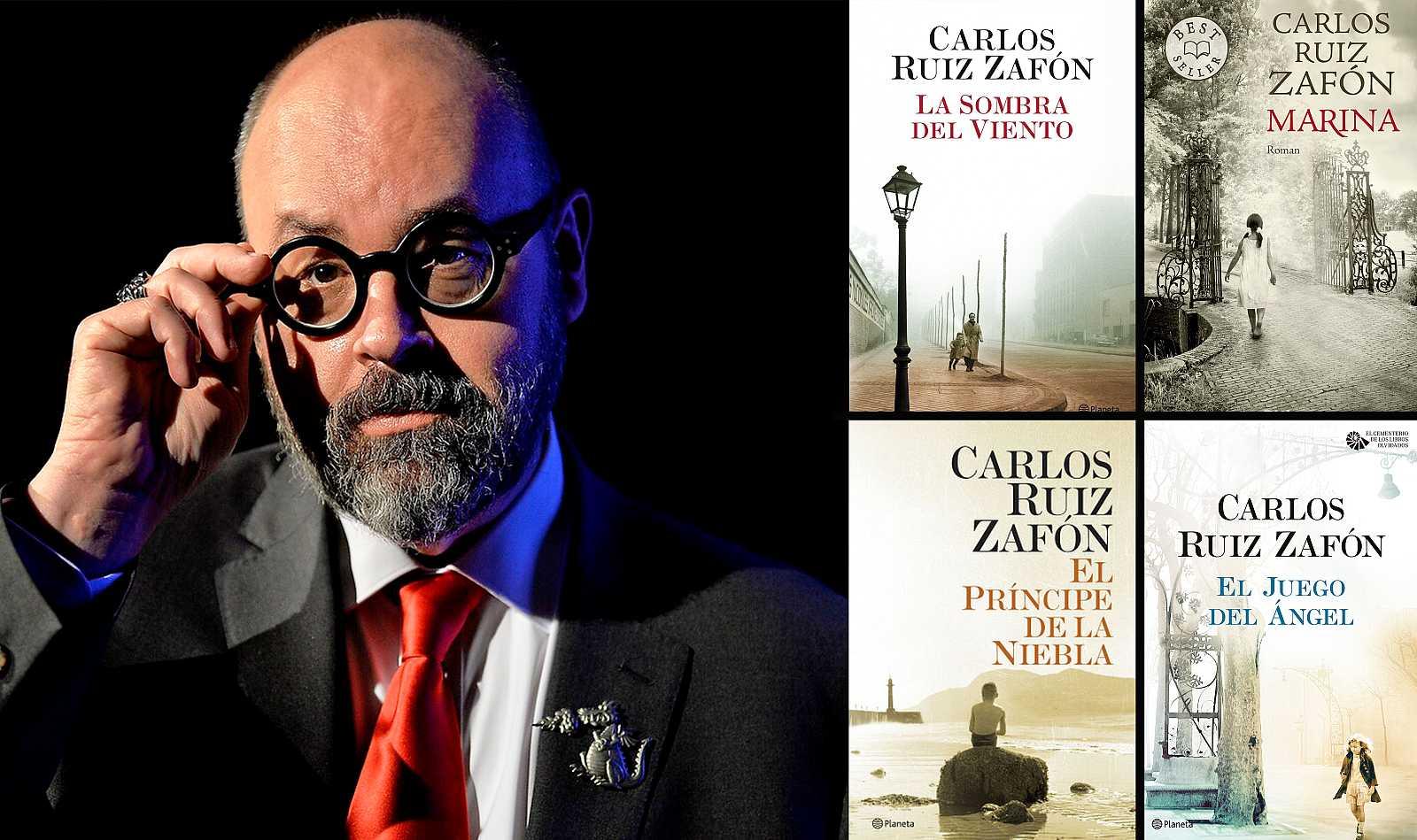 Carlos Ruiz Zafón reunió a millones de lectores alrededor de sus novelas góticas
