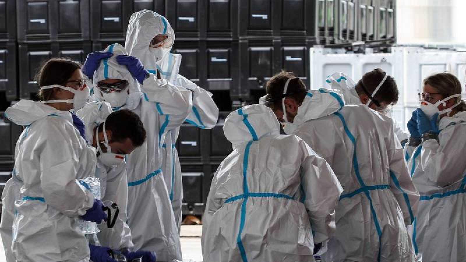 El ejército alemán ha colaborado en la realización de tests en la planta cárnica Toennies