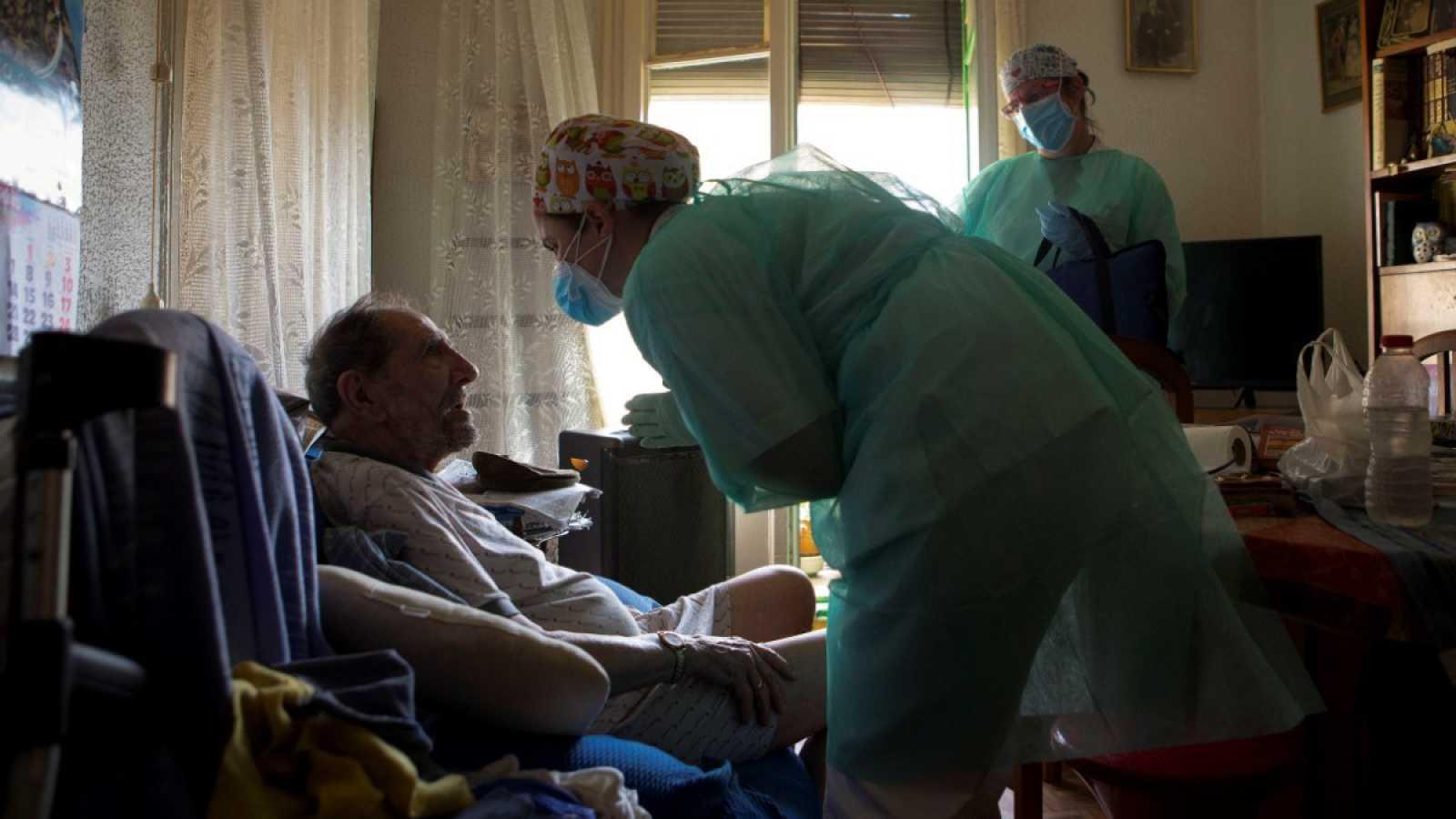 Atención domiciliaria por parte de enfermería y médicos del CAP del Raval