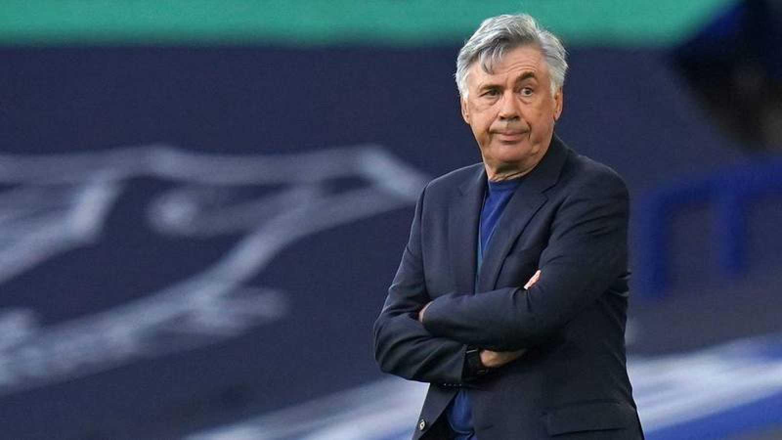 Carlo Ancelotti, ex entrenador del Real Madrid.