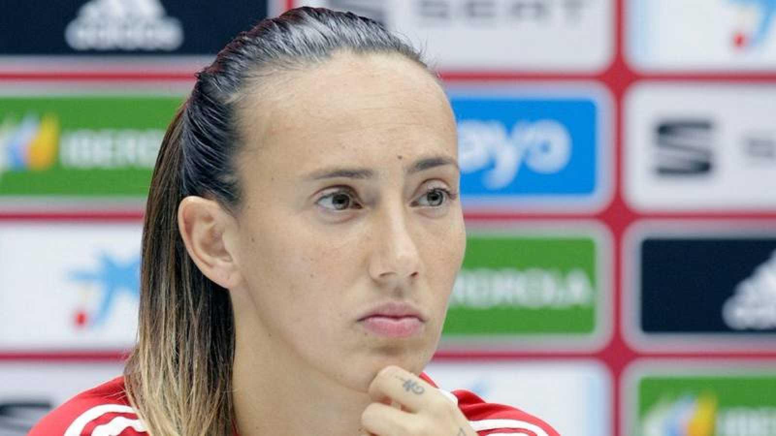 La jugadora de la selección española de fútbol, Virginia Torrecilla.