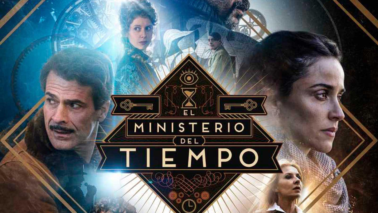 Cartel de la cuarta temporada de El Ministerio del Tiempo
