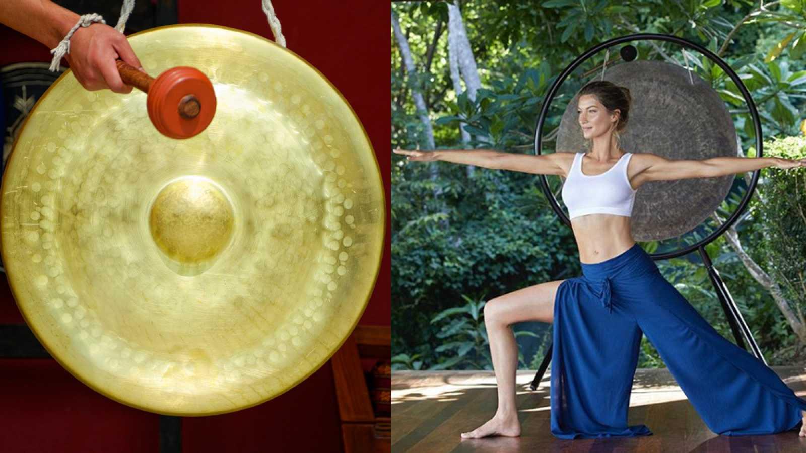 Gisele y el gong