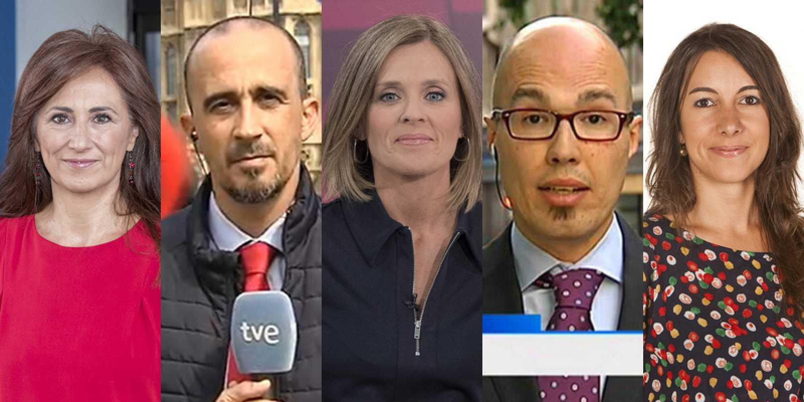 Relevos en las corresponsalías de RTVE