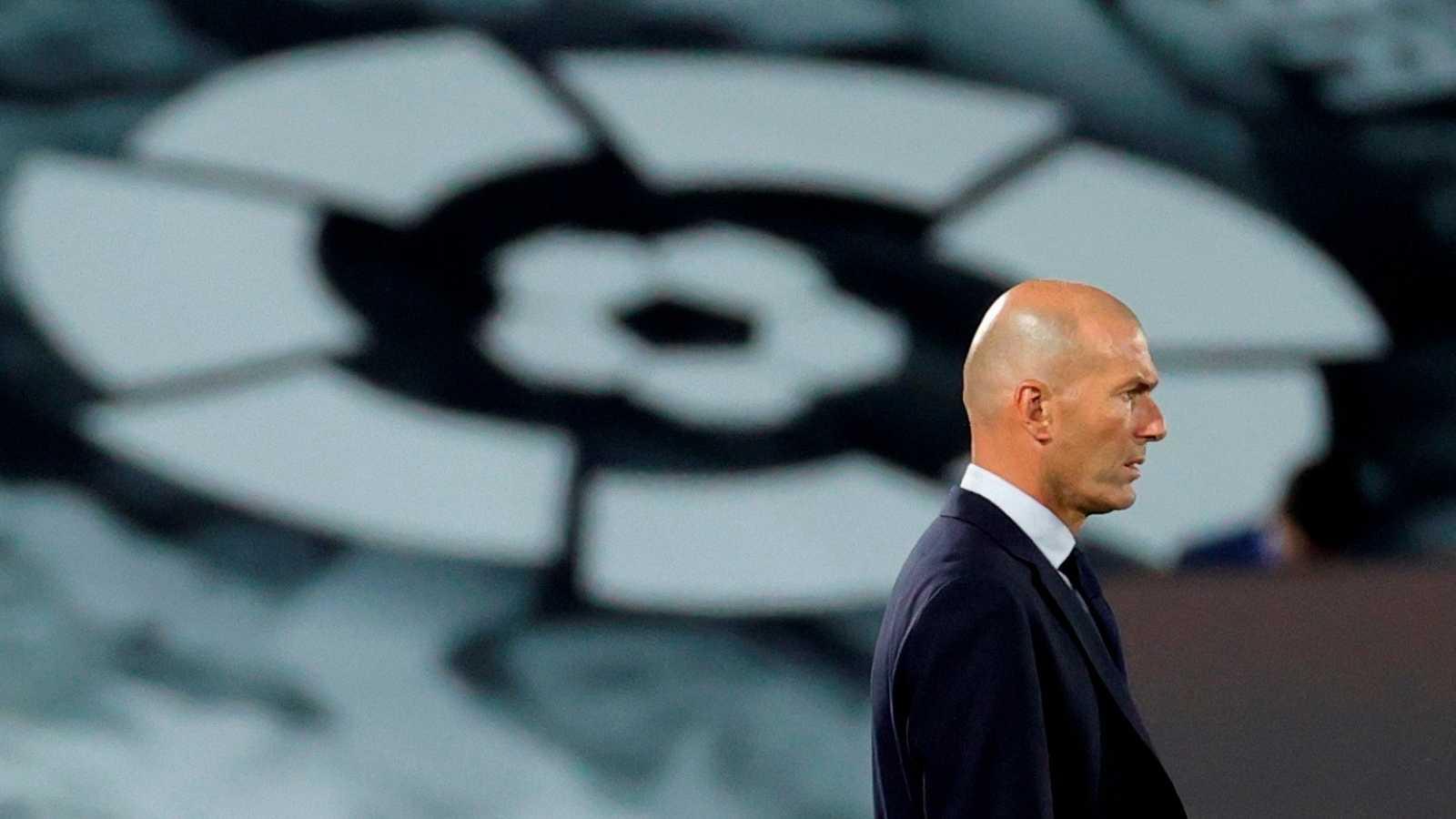 El técnico del Real Madrid, Zinedine Zidane