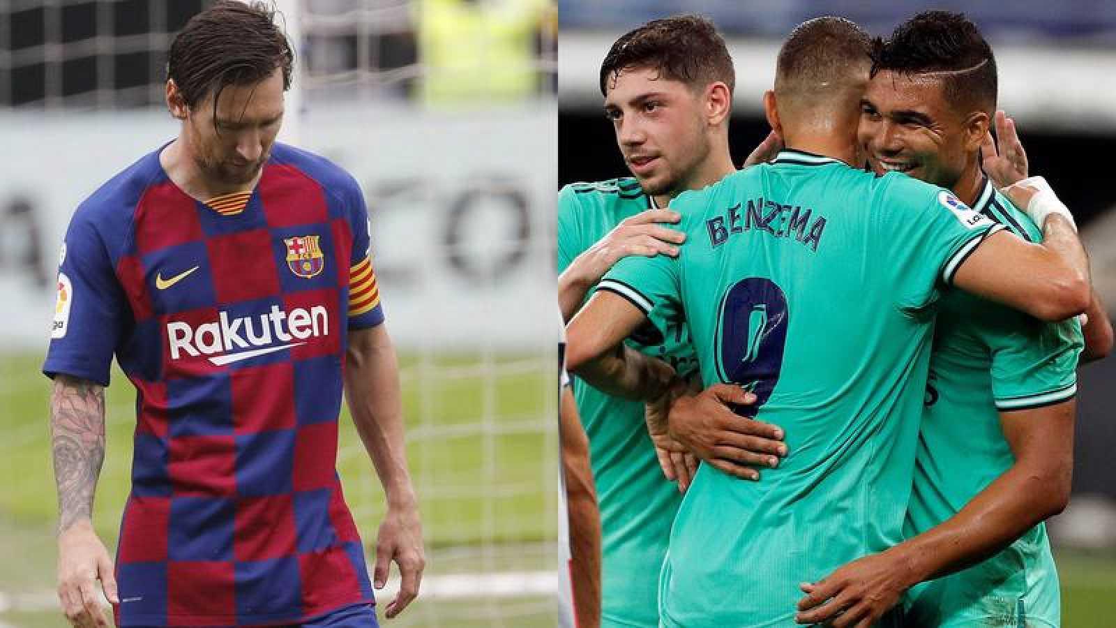 El Barça empató en Vigo y el Madrid ganó en su visita al Espanyol.
