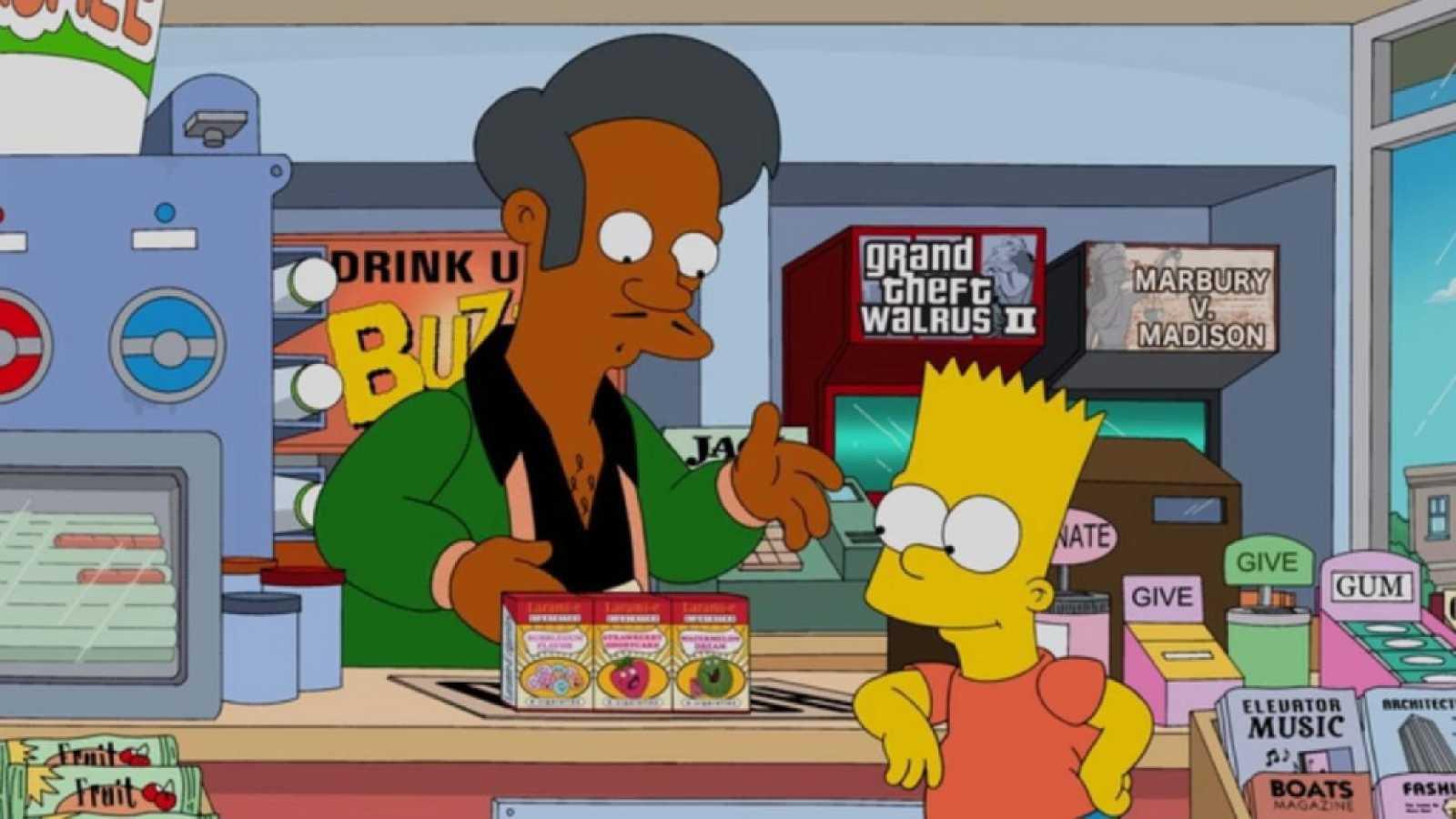 Los personajes de 'Los Simpson' serán doblados por actores del mismo color