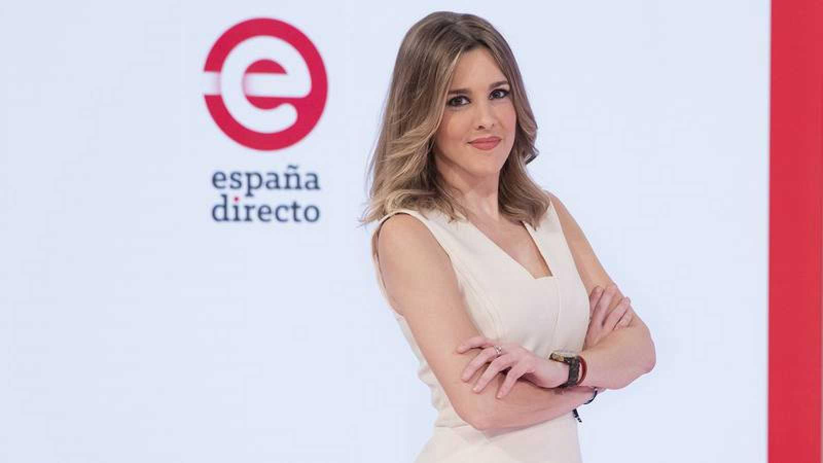 Ana Ibañez, actual presentadora de España Directo