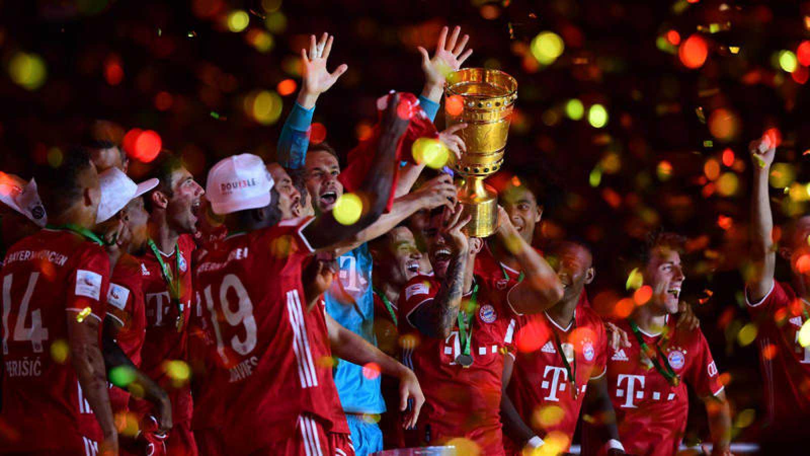 Imagen: El Bayern gana la Copa de Alemania