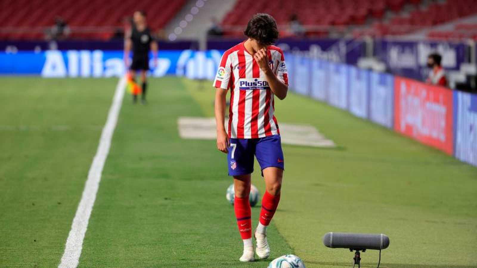El jugador del Atlético de Madrid, João Félix , durante el encuentro ante el Mallorca