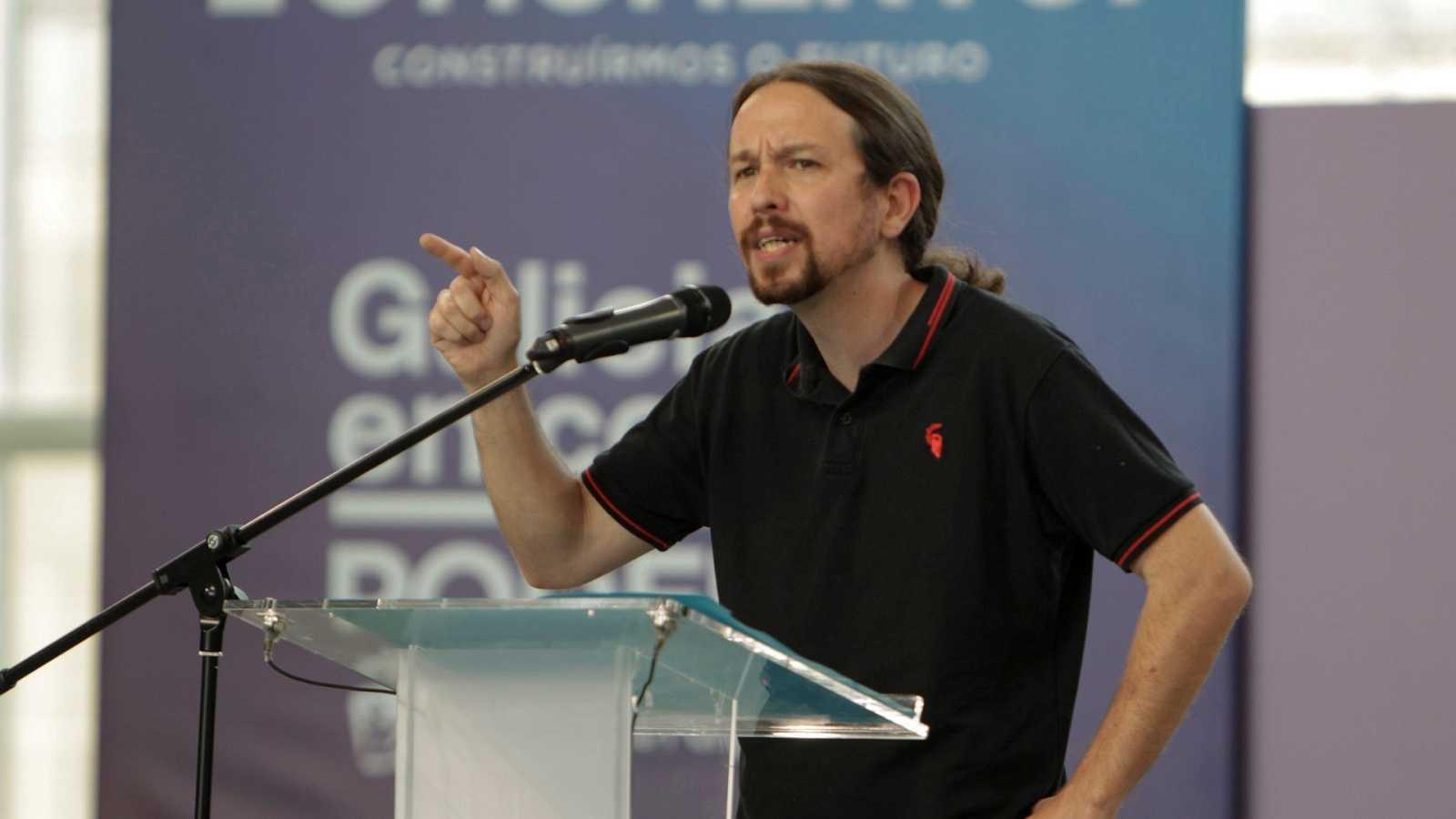 El líder de Podemos y vicepresidente segundo del Gobierno, Pablo Iglesias.