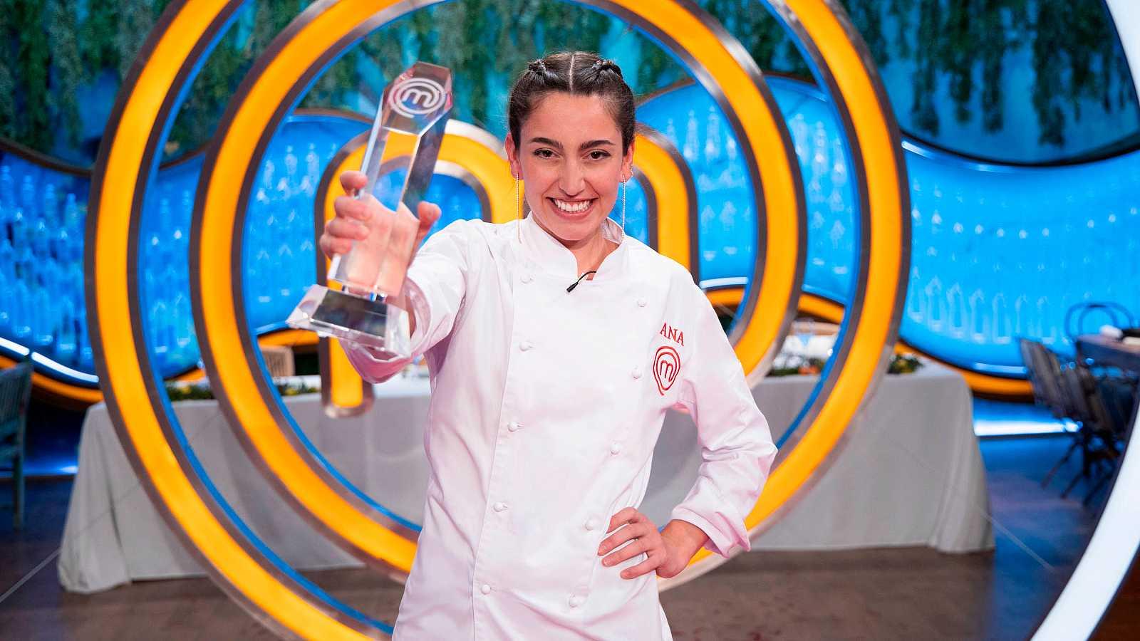 Ana, ganadora de la octava edición de MasterChef