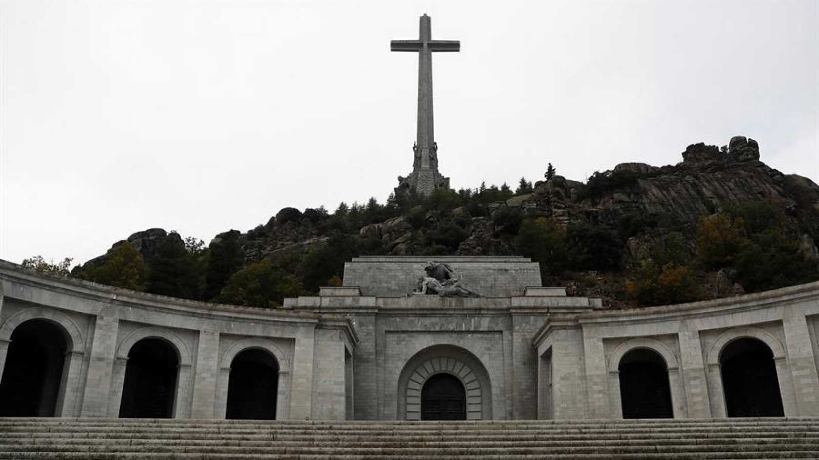 Vista del Valle de los Caídos tras su reapertura en octubre de 2019