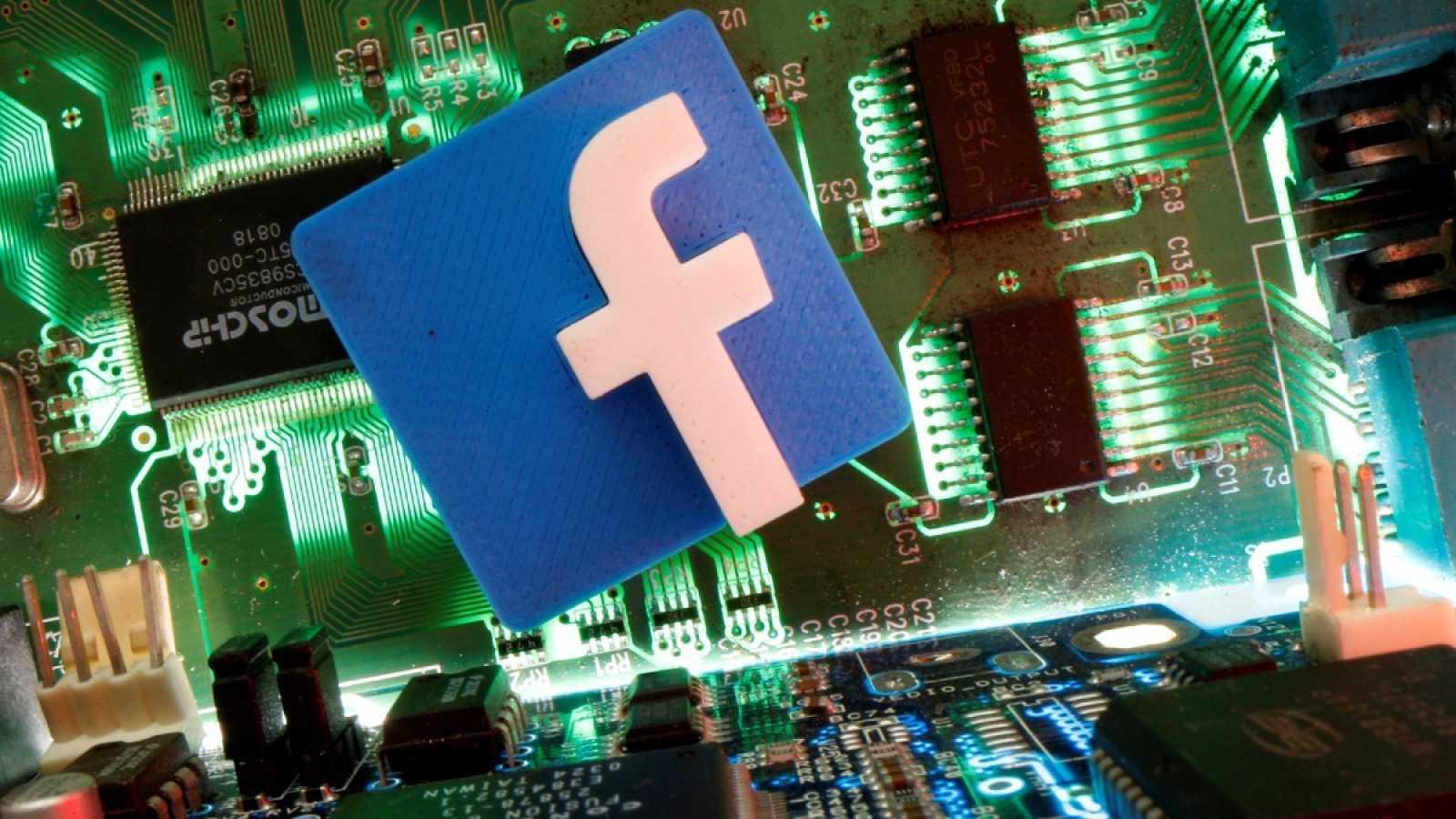 Imagen de archivo con el logo de Facebook