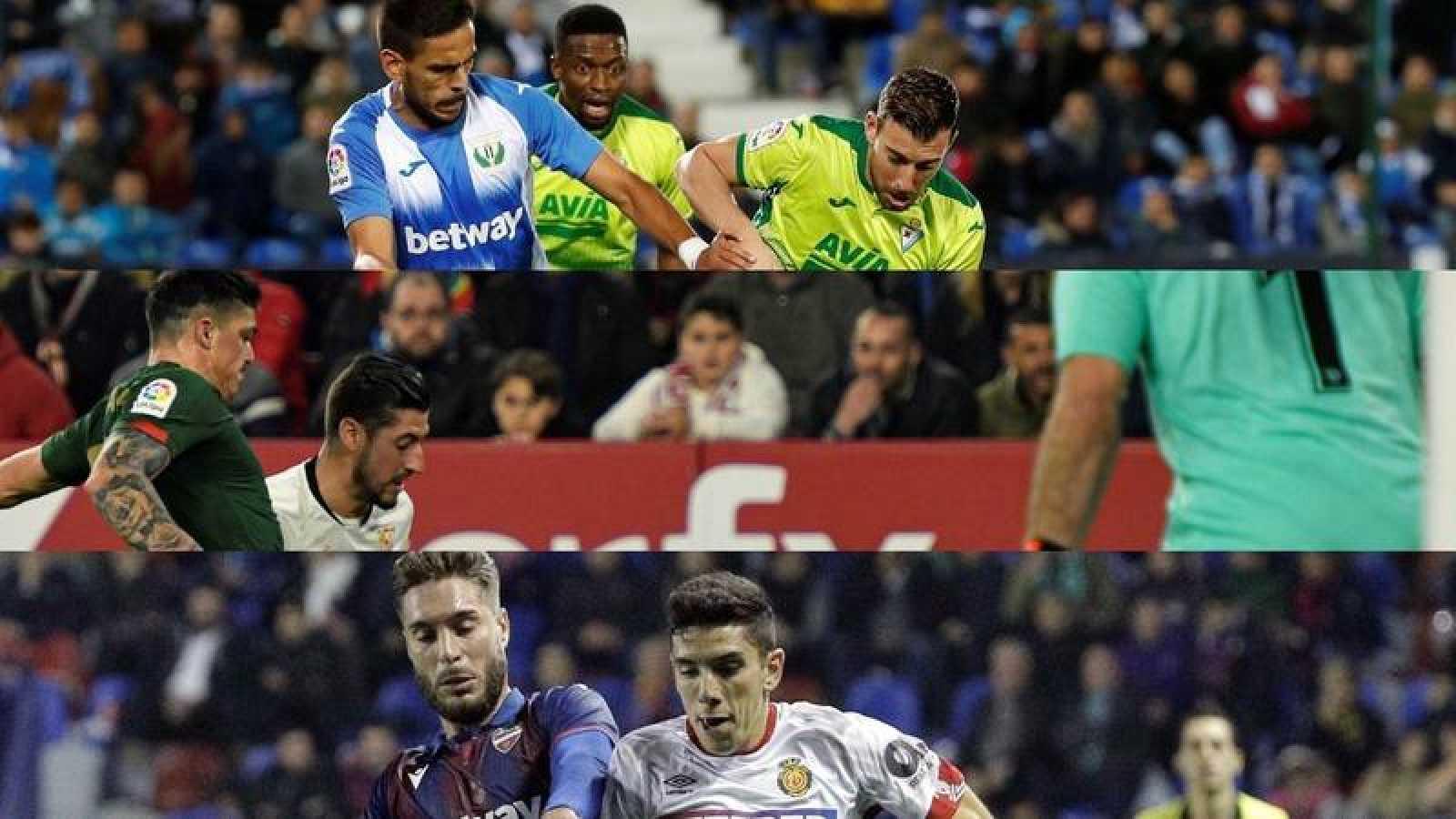 Leganés-Eibar y Mallorca-Levante por evitar el descenso y Athletic-Sevilla por los puestos europeos