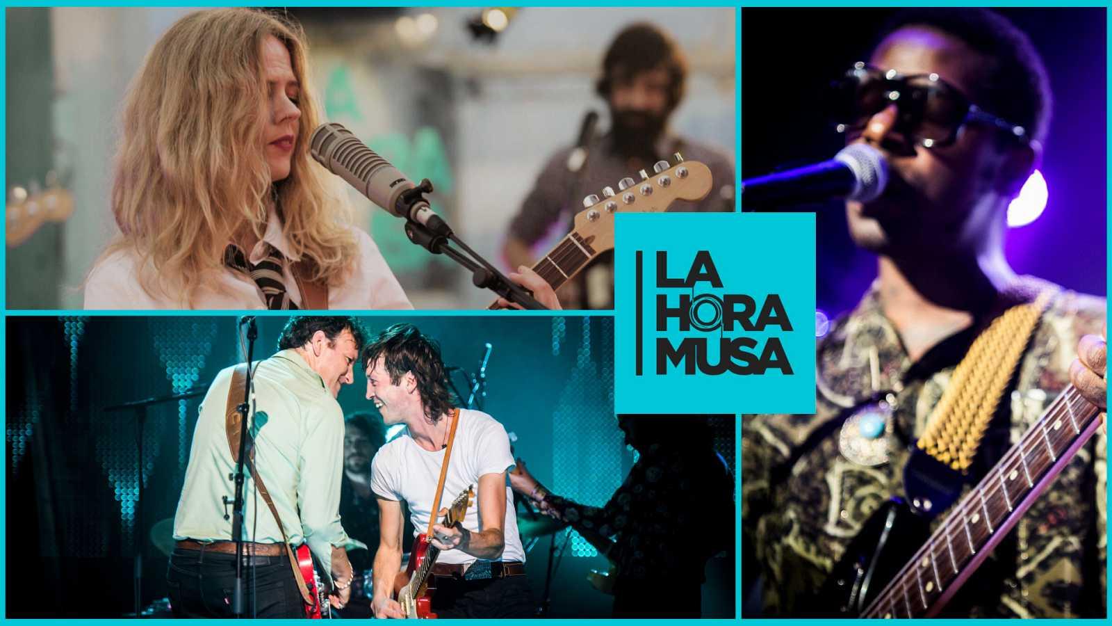 Extras Verano La Hora Musa - Christina Rosenvinge, Marlon Williams y Curtis Harding