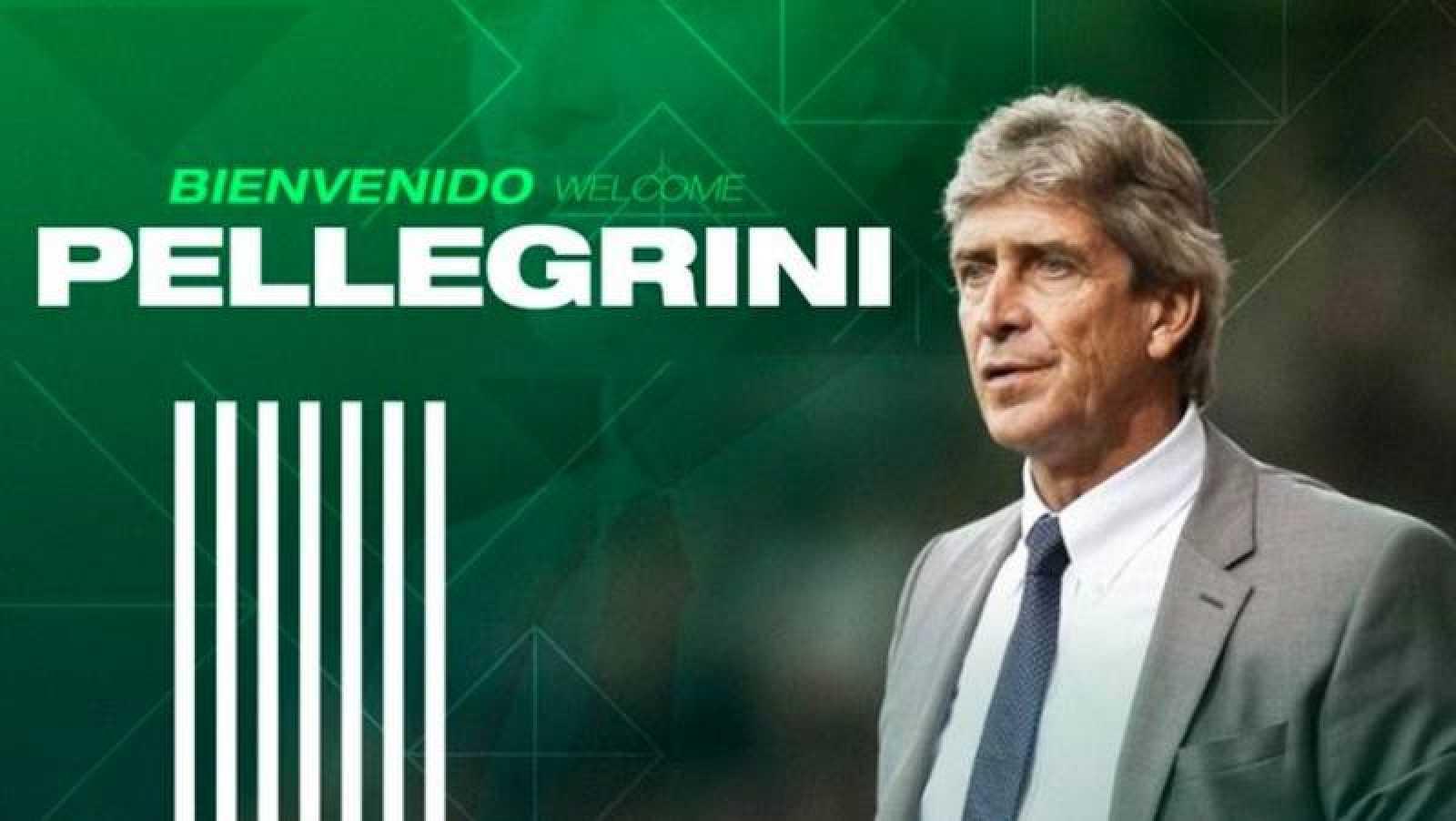 El Betis da la bienvenida a Manuel Pellegrini.