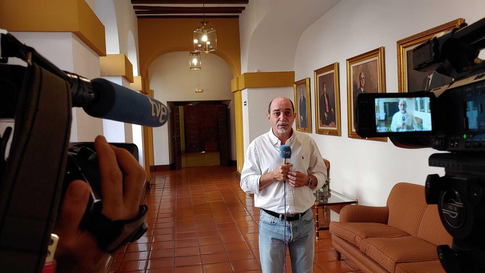 Un periodista de RTVE desde el convento de San Gil en Toledo