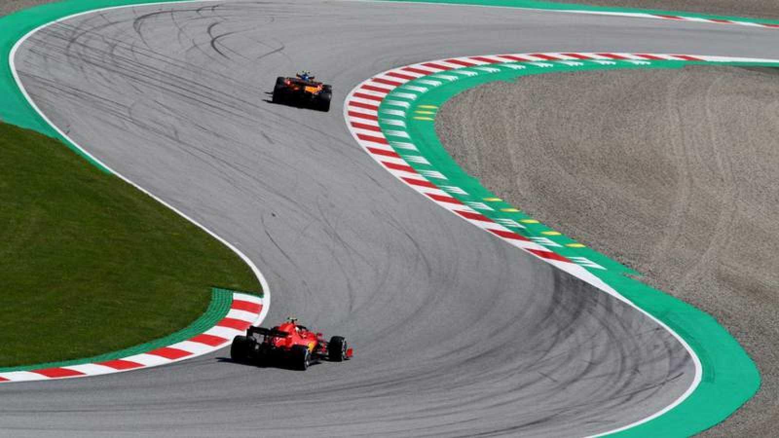 Imagen del GP de Estiria de F1 en el circuito de Spielberg (Austria).